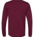 BELLA+CANVAS 3501 Long Sleeve T-Shirt MAROON