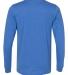 BELLA+CANVAS 3501 Long Sleeve T-Shirt HEATHER TRU ROYL