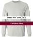 2400 Gildan Ultra Cotton Long Sleeve T Shirt  CARDINAL RED