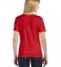 BELLA 6406 Missy Scoop Neck T-shirt RED