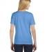 BELLA 6406 Missy Scoop Neck T-shirt BLUE TRIBLEND