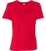 BELLA 6400 Womens Relaxed Jersey Tee RED