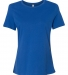 BELLA 6400 Womens Relaxed Jersey Tee TRUE ROYAL