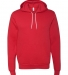 BELLA+CANVAS 3719 Unisex Cotton/Polyester Pullover RED