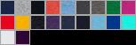 SF45 swatch palette