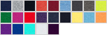 SFJ swatch palette
