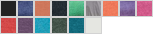 6750L swatch palette