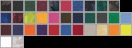 M1009 swatch palette
