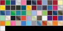 2000 swatch palette