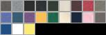 3001T swatch palette