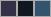 F497 swatch palette
