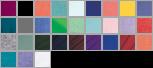 H000 swatch palette
