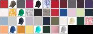 AA1070 swatch palette