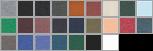 3301 swatch palette