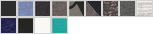 7501 swatch palette