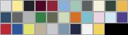 1301 swatch palette