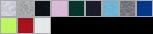 29BL swatch palette