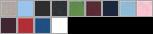 6005 swatch palette