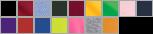 12900 swatch palette