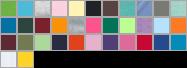 3301T swatch palette