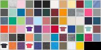 3321 swatch palette