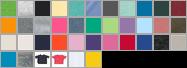 3322 swatch palette