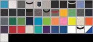 3480 swatch palette