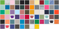 4424 swatch palette