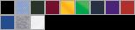 5400B swatch palette