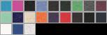 8413 swatch palette