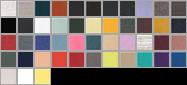 3719 swatch palette